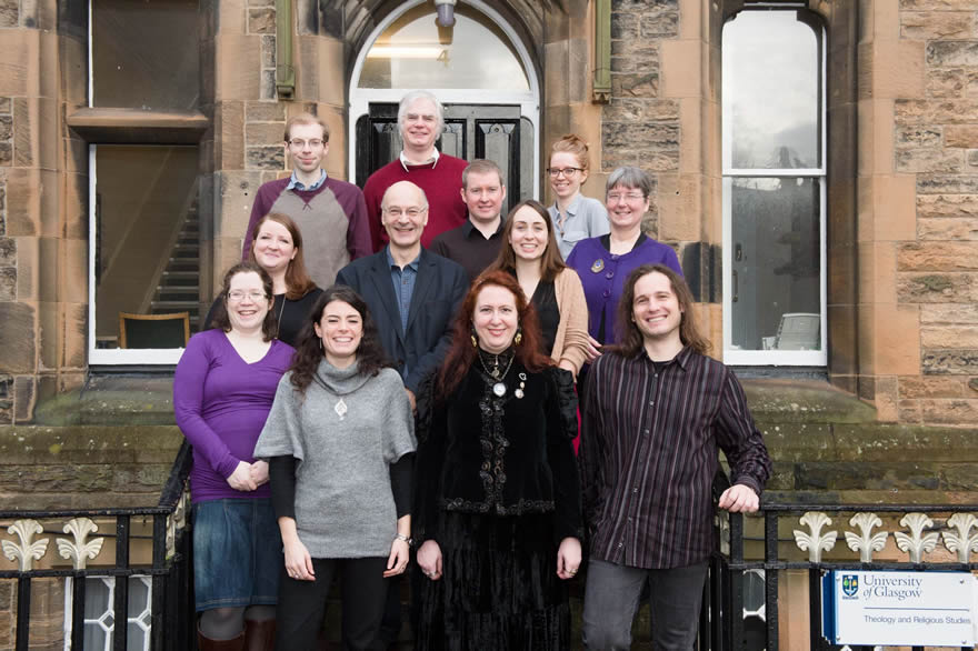 Most of the Cullen project members at Glasgow University